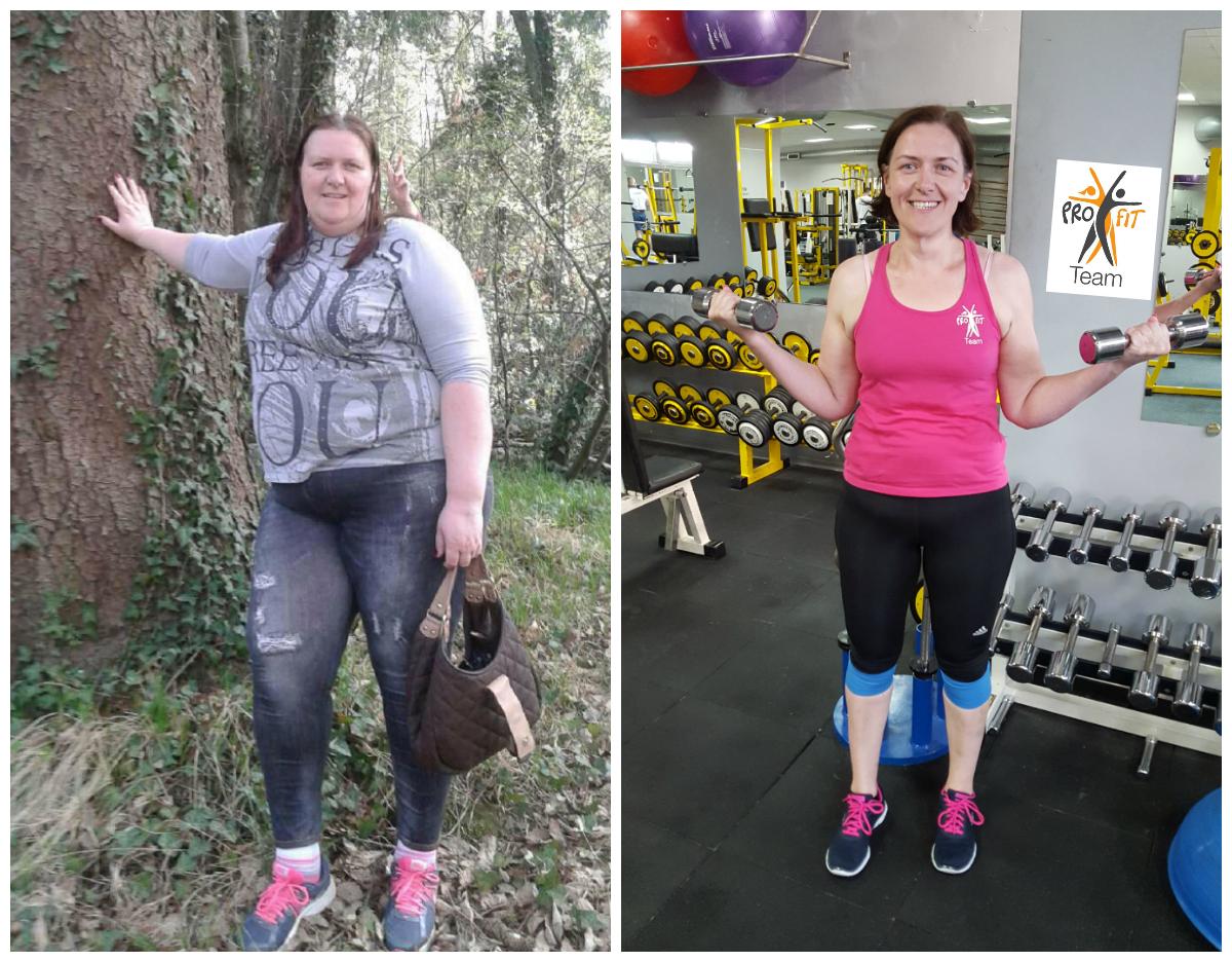 Osebno trenerstvo in prehransko svetovanje - preobrazba